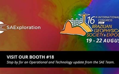 6th International Congress of the Brazilian Geophysical Society & ExpoGEf