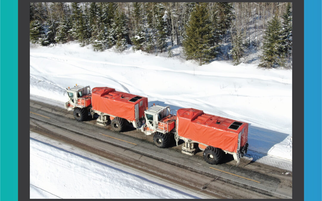 SAExploration deployed the LARGEST VIBRATORS with imaging capability down to 12,000 meters in Canada