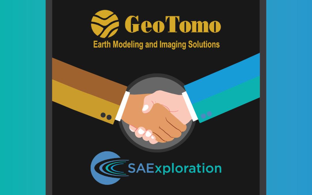 GeoTomo & SAExploration Asset Purchase & Strategic Alliance Announcement