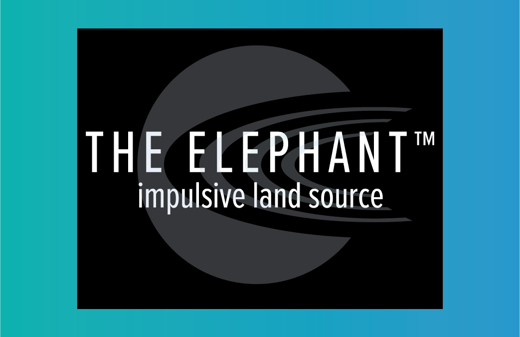 Be on the lookout for The Elephant™ from SAExploration!