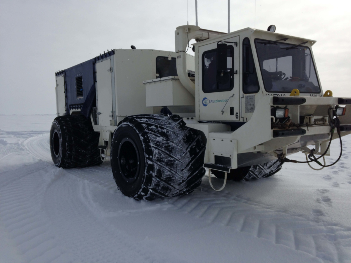 SAExploration can meet the challenges across all operational theaters from remote arctic to urban seismic acquisition environments