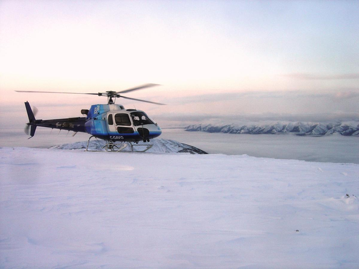 SAExploration helicopter management procedures, based on IOGP 420 and 390, promote effective management operations and standards